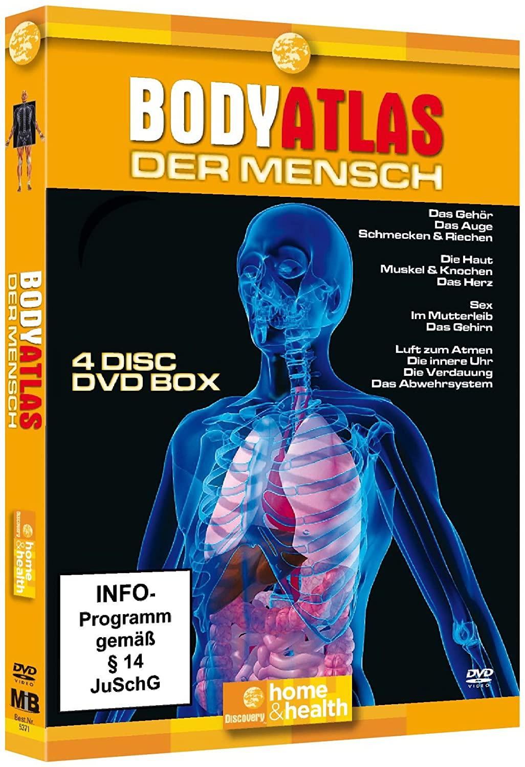 Bodyatlas Box (4 DVDs): Amazon.de: Dokumentation: DVD & Blu-ray