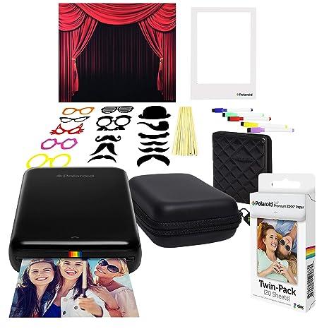 Polaroid Zip Impresora de Fotos Inalámbrica (Negro) Kit con ...