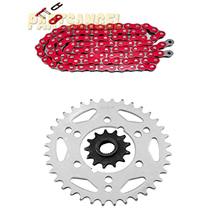 O-Ring Drive Chain /& Sprockets Kit Fits POLARIS SCRAMBLER 500 4x4 2000-2011