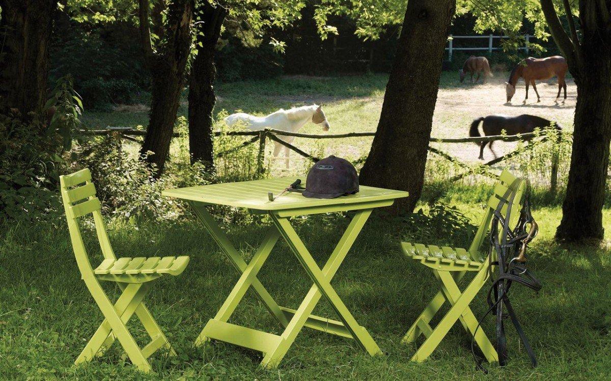 Dreams4Home Campingset \'Casto\' - 3 tlg. Set, 2x Stühle, 1x Tisch ...