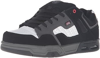 d37176800b DVS Men s Enduro heir Skateboarding Shoe Black Red Grey 7.5 ...