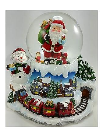 Spieluhr Weihnachten.Spieluhr Weihnachten Mit Lichterkette Schnee Und Sinfonia