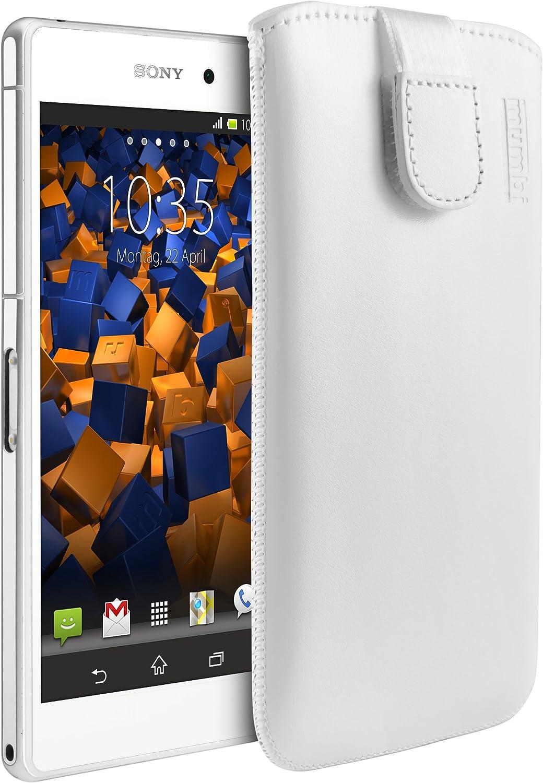 Mumbi Echt Ledertasche Kompatibel Mit Sony Xperia Z2 Elektronik