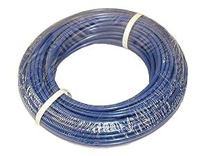 "ATP IMBIBE NSF 61 Polyethylene Plastic Tubing, Blue, 11/64"" ID x 1/4"" OD, 100 feet Length"