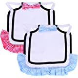 PETKNOWS 2 Pack Chicken Saddle Hen Apron with Good Elasticity Straps Suitable for Small, Medium and Large Hens, Protect Hens