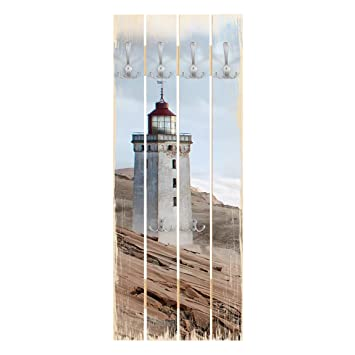 Bilderwelten Perchero de Madera - Lighthouse In Denmark ...
