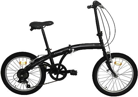 Bici Pieghevole Cicli Cinzia.Cicli Cinzia Bicicletta 20 Citybike City Fold 6 V Revo Shift V