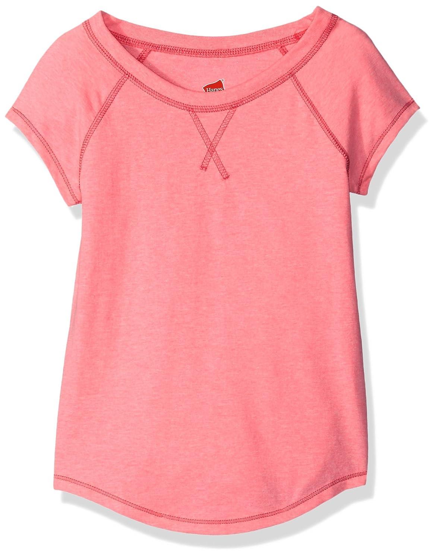 Hanes Girls Little Girls V-Notch X-Temp Tee Hanes Women' s Activewear OK059
