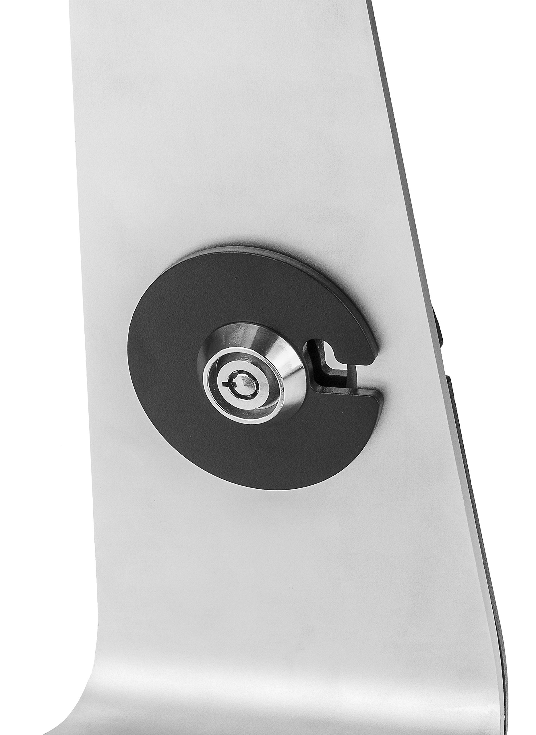 SecurityXtra SecureDOCK UNO Low Profile Security Lock Mount for iPad Pro White by SecurityXtra (Image #5)