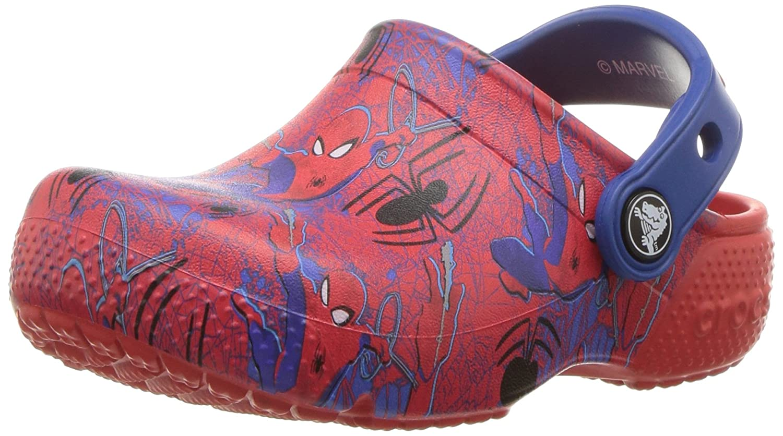 105c043aa Crocs Kids  Fun Lab Spiderman Graphic Clog