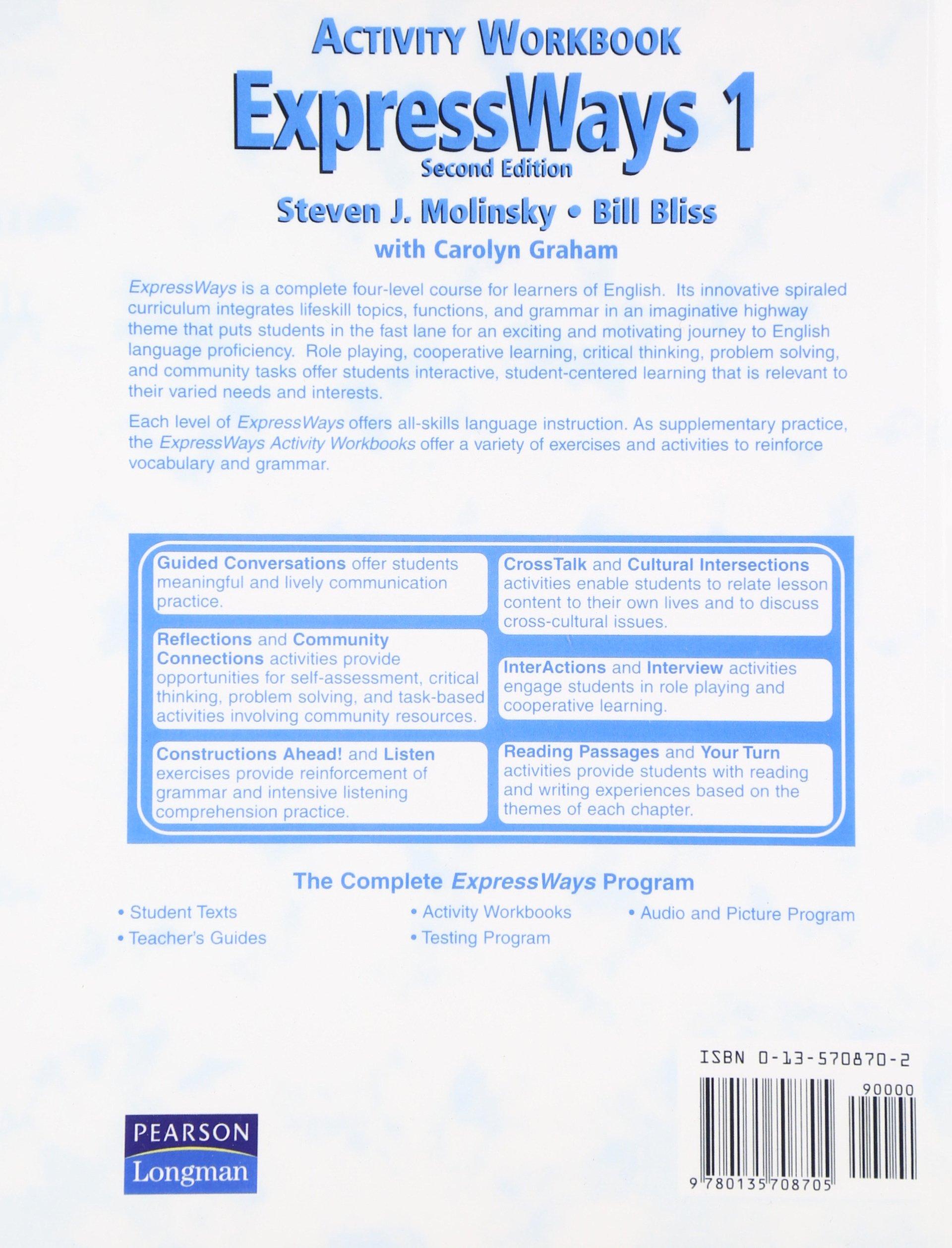 ExpressWays 1 Activity Workbook: Activity Workbook Bk  1