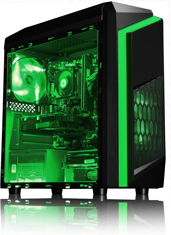 VIBOX FX 10 PC Gaming Computer con War Thunder Voucher di Gioco, Windows 10 OS (4,2GHz AMD FX 8-Core Processore, Nvidia GeForce GTX 1050 Scheda Grafica, 8GB DDR3 1600MHz RAM, 1TB HDD)