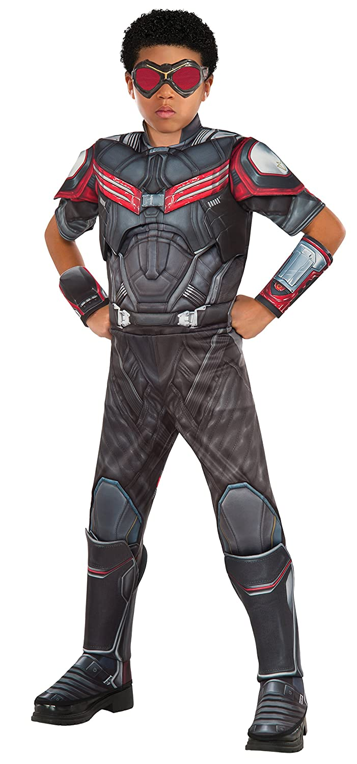 Civil War Falcon Deluxe Muscle Chest Child Costume Rubies Costume Captain America Large Rubies Domestic 620599-L