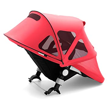 Soft Pink Bugaboo Fox And Cameleon3 Breezy Sun Canopy