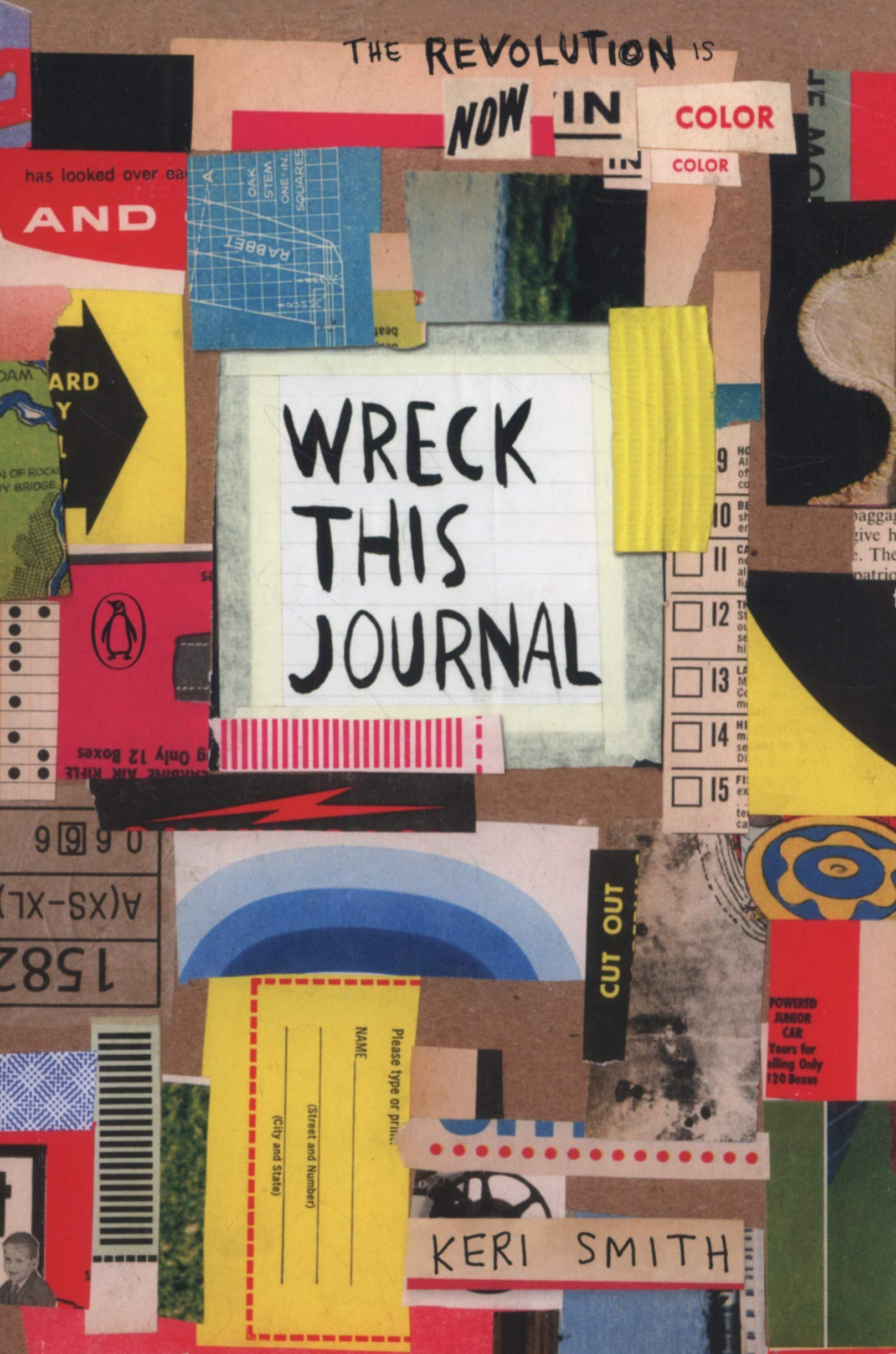 Wreck This Journal. Now In Colour: Amazon.es: Keri Smith: Libros ...