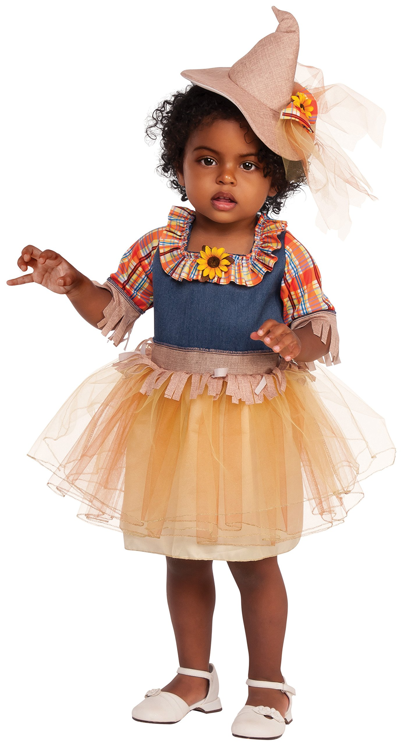 Rubies Costume Child's Sweet Scarecrow Costume, Small, Multicolor