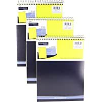 "2 Set of 3 Pack Brand Mead Legal Pad, Wide Ruled Paper, Top Spiral Bound, 70 Sheets Count, 8-1/2"" x 11"", Color Yellow"