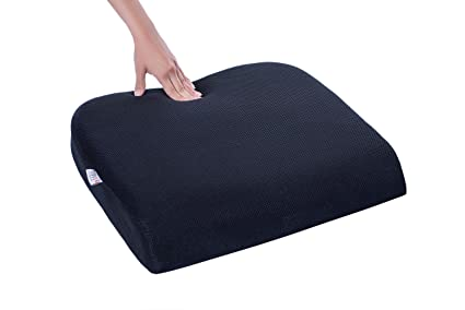 FOVERA Large Seat Cushion for Office Chair - Designed for Long Sitting Hours : Amazon.in: Home & Kitchen