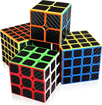 abwei Cubo, Cubo Mágico Speed Cube Puzzle Pack 2x2 3x3 4x4 5x5 ...