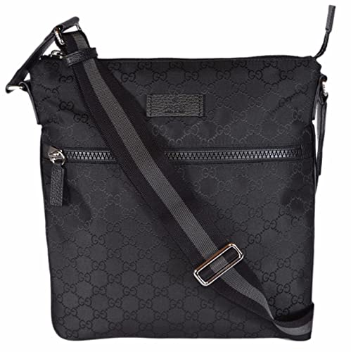 design innovativo 7bd29 e5fb7 Gucci uomo GG Guccissima web nylon Trim Crossbody messenger ...