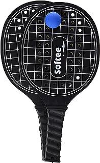 Softee Equipment 0009831 Juego Palas de Playa para Competición, Blanco, S