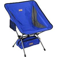Trekology YIZI GO Campingstuhl kompakt – Outdoorstuhl faltbar, kleiner, ultraleichter und klappbarer Campingstuhl in…