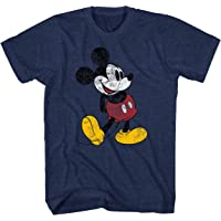 Disney Mickey Mouse Classic Distressed Standing T-Shirt