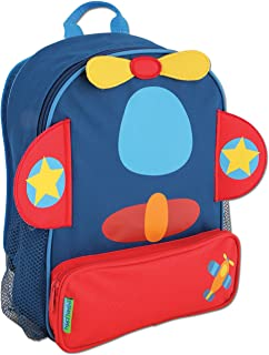 91db3482c958 Amazon.com | Stephen Joseph Boys Sidekick Shark Backpack and Lunch ...