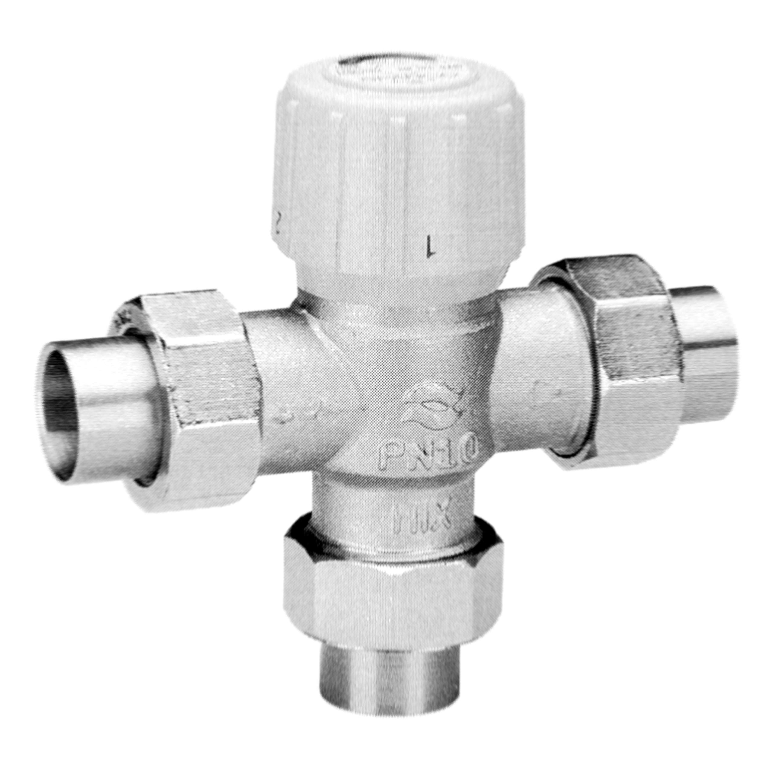 Honeywell AM101-US-1 Sparco Thermostatic Mixing Valve, 3/4'' Union-Sweat 100-145F