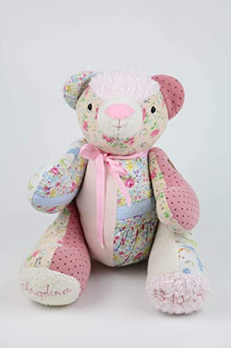 Memory bear sewing pattern, teddy bear pattern, made from baby ...