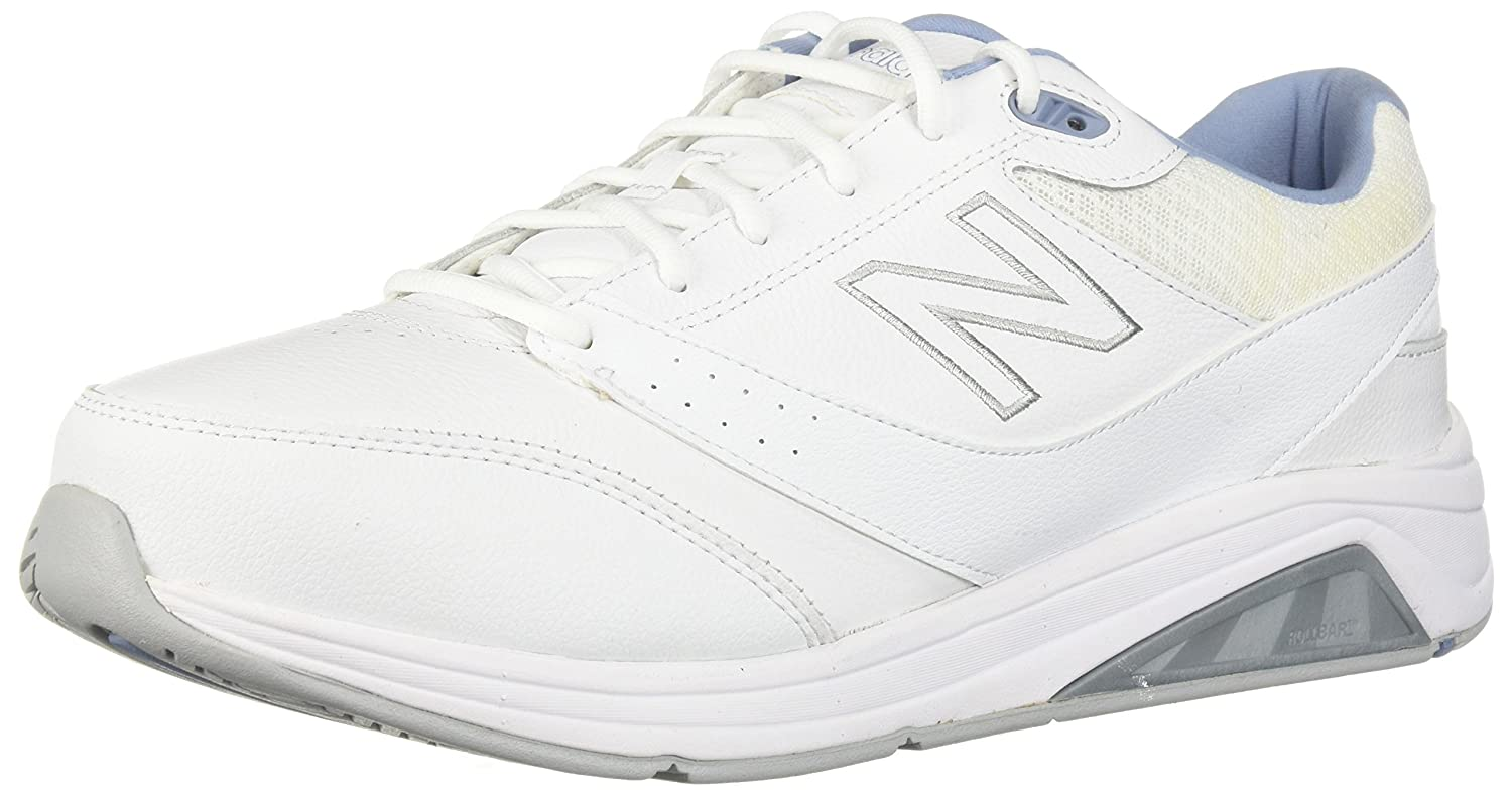 New Balance Women's Womens 928v3 Walking Shoe Walking Shoe B01N553D17 8 B(M) US|White/Blue