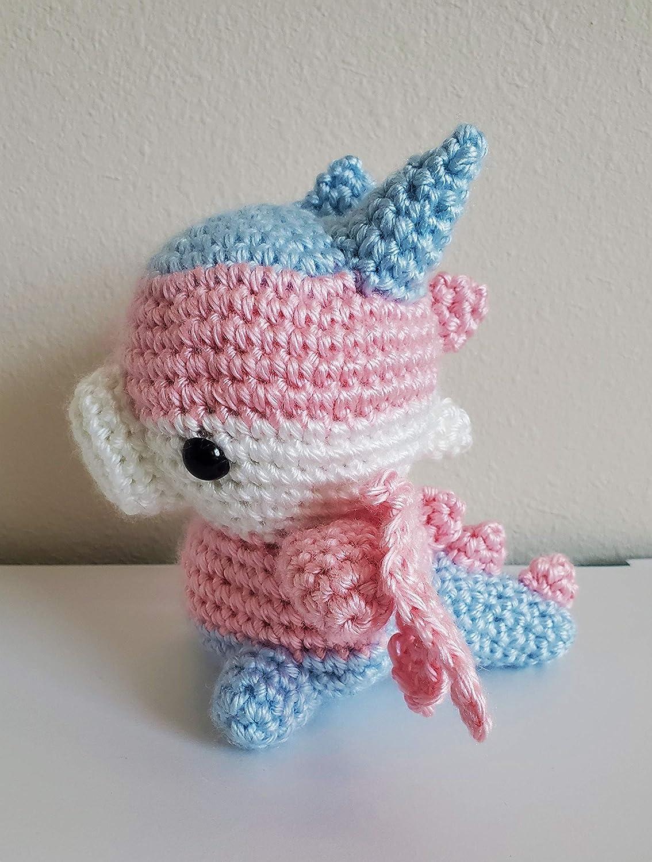 Chibi Transgender Dragon Plush