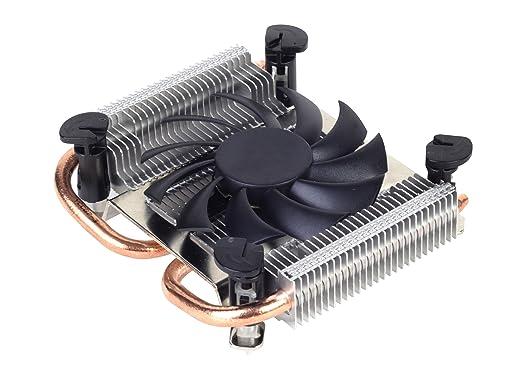 12 opinioni per SilverStone Argon AR04 Dissipatore CPU Low Profile 23mm, Nero