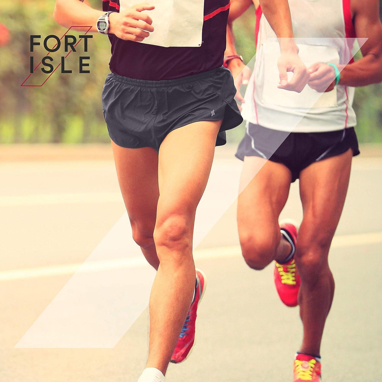 Fort Isle Mens Short Running Shorts