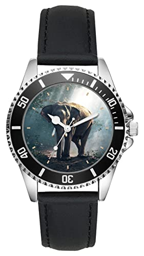 Elefante Regalo Artículo Idea Fan Reloj L-20577...