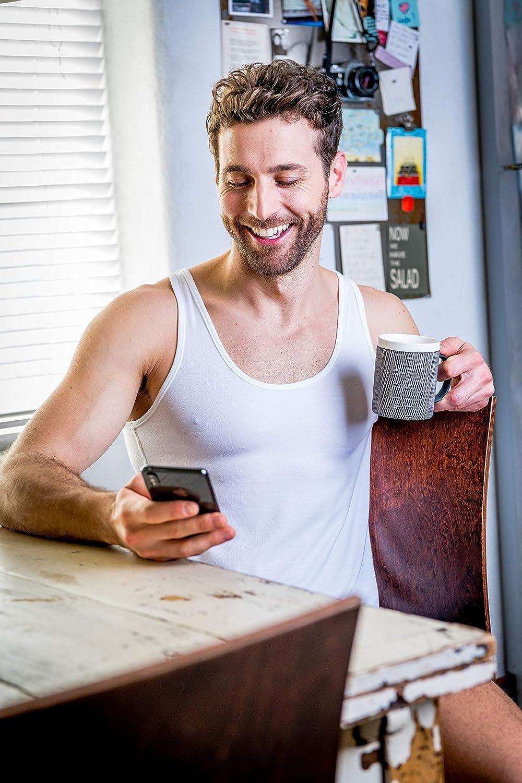 FINN Business Mens Undershirt Sleeveless Singlet Tank-Top Micro-Fiber