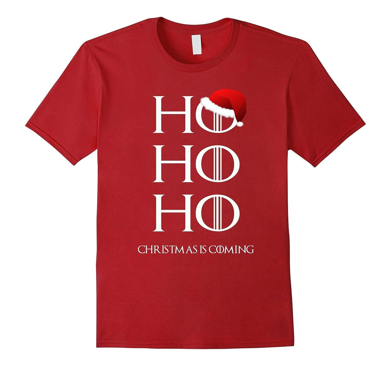 Christmas T Shirt Fun Holiday Clothes Adult Kid Fun Ho Ho Ho-T-Shirt