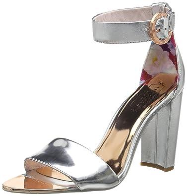fec6713eeadf Ted Baker London Women s Secoa Open-Toe Heels  Amazon.co.uk  Shoes ...