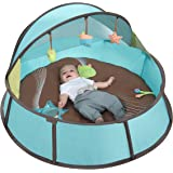 Babymoov Babyni - 3-in-1 Playpen, Activity Gym & Napper with Pop-Up System, 6 Toys and UPF 50+ Protection for Outdoor & Indoor Use