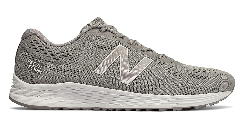 New Balance Men's Arishi v1 Fresh Foam Running Shoe B075XLVCF8 8.5 D(M) US|Grey/White