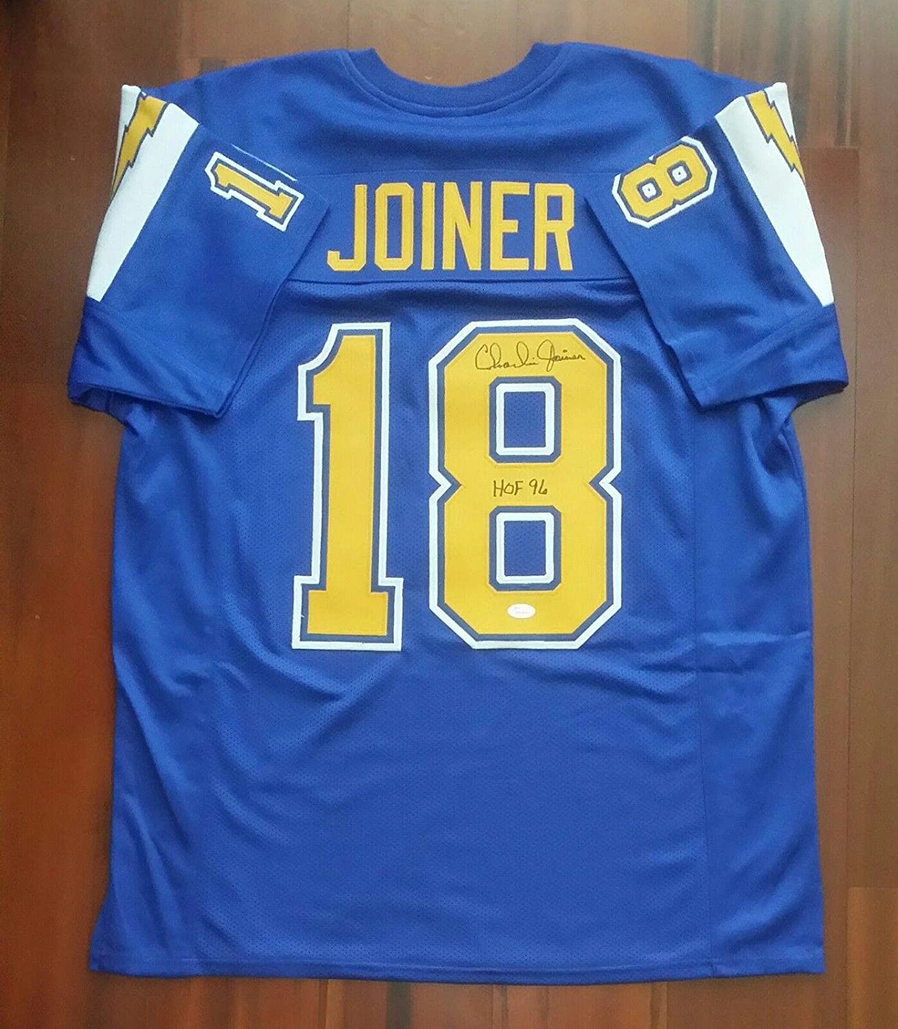 bbc2ac12670 Amazon.com  Charlie Joiner Signed Jersey - JSA Certified - Autographed NFL  Jerseys  Sports Collectibles