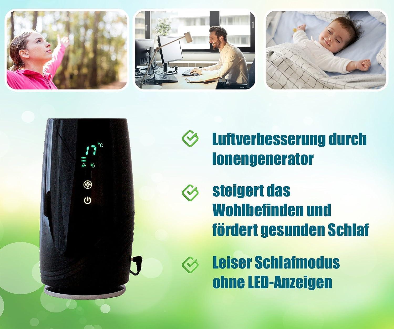 Purificador de Aire ionizador B de D01 Generador de/Filtro de ...