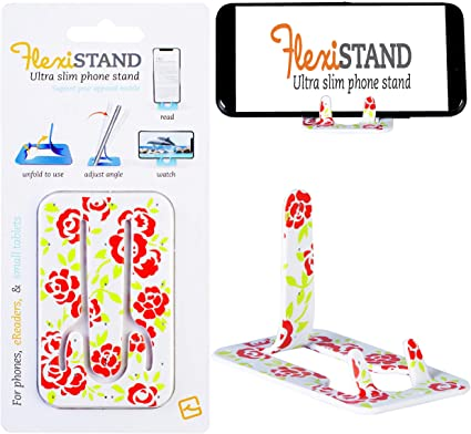 Gifts for Readers & Writers Soporte Flexible para teléfono móvil, Atril para Smartphone, Phablet, Tablets pequeñas, eReaders, iPhone, Samsung - Modelo Rosas: Amazon.es: Hogar