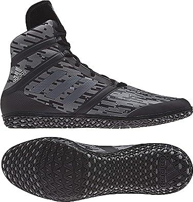 ostaa ostaa halpaa ostaa myyntiin adidas Impact Men's Wrestling Shoes, Black Digital Print, Size 6.5