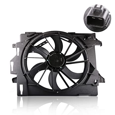 Amazon com: MOSTPLUS Front Radiator Cooling Fan for 08-10