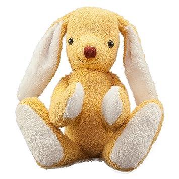"""KALLISTO de peluche """"conejo Oro – Peluche (peluches animales bio fabricado en"""