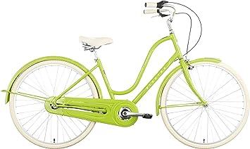Electra Amsterdam Original 3i ladies – Bicicleta Verde Ciudad Holandesa Retro City, 73120011615: Amazon.es: Deportes y aire libre