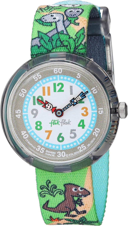 Flik Flak Kinderuhr Datum Quarz mit Stoffarmband – FBNP048: Amazon.de: Uhren - Flik Flak Uhr