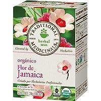 Traditional Medicinals, Té Orgánico De Jamaica, 28 Gr., 16 Bolsitas De Té
