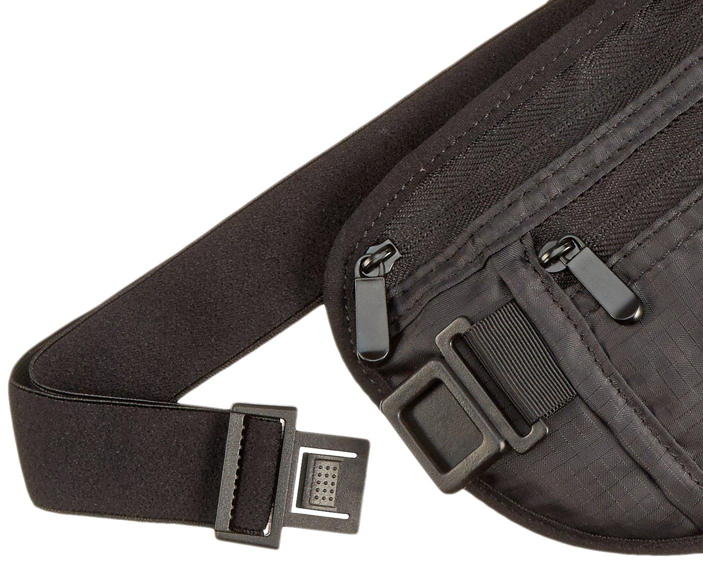 Khaki Basics RFID Travel Money Belt